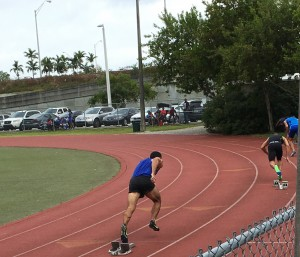 400m Start Moore Park Relays 2016
